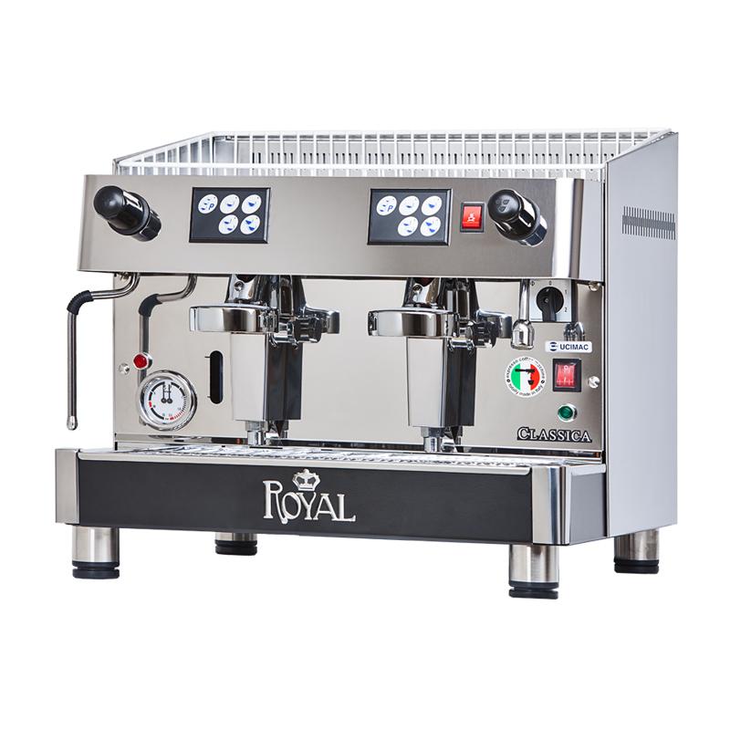 Profesionální kávovar Classico dvoupákový