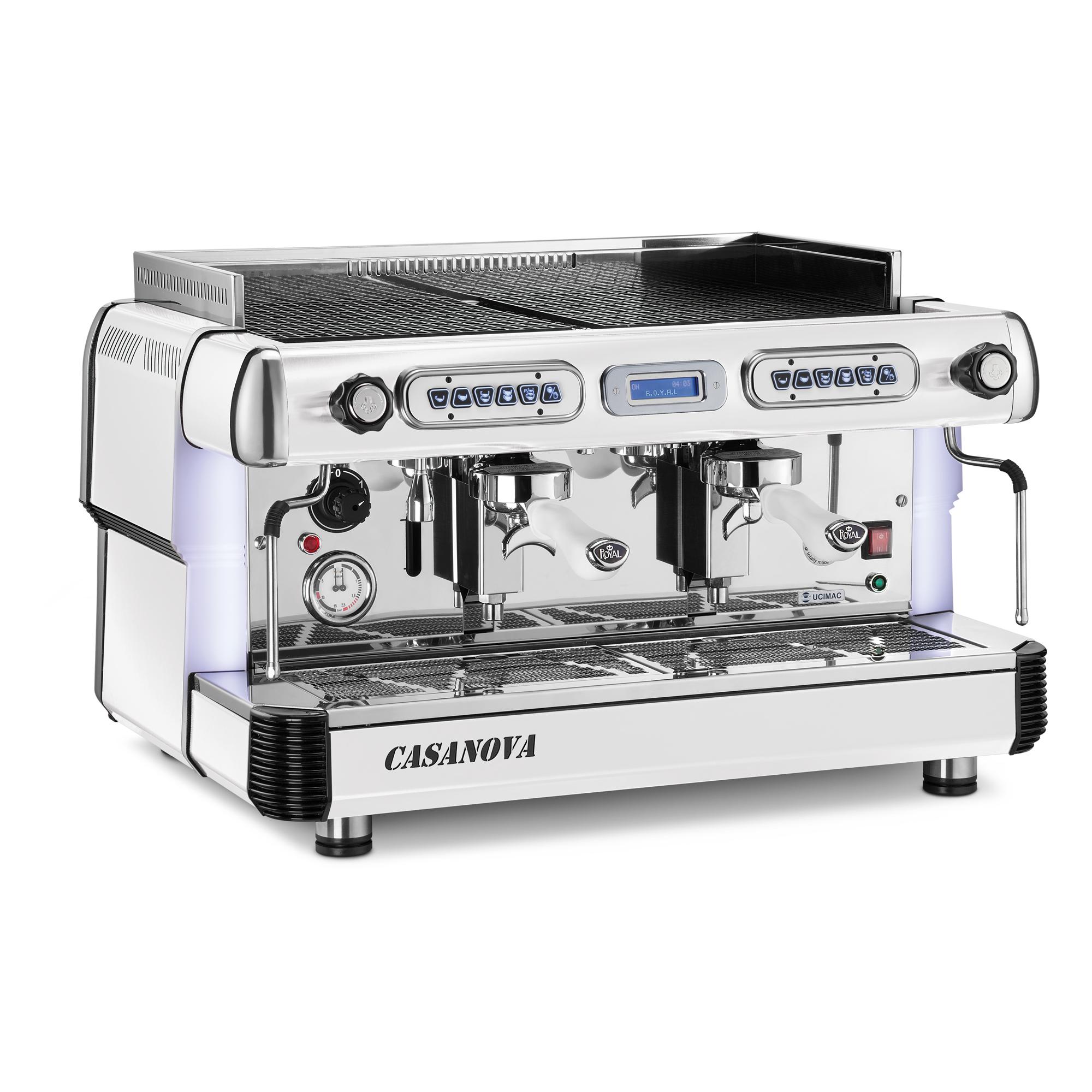 Profesionální kávovar Casanova (jednopákový až třípákový)