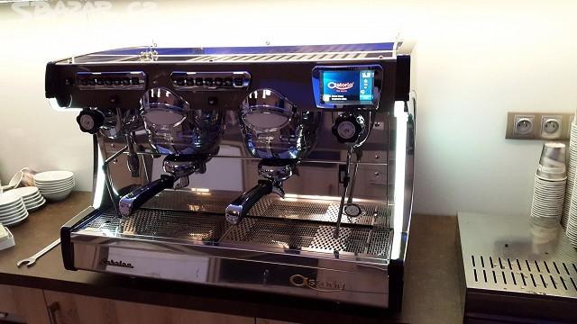 Profesionální kávovar Sabrina dvoupákový