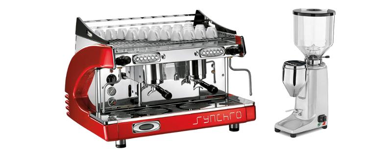 Servis kávovarů a mlýnků